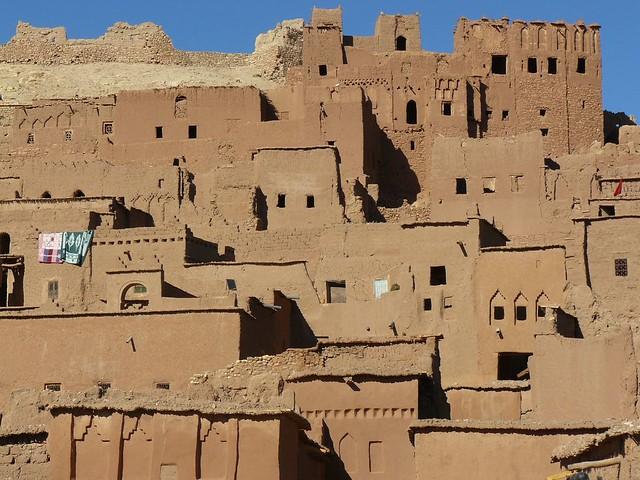 Kasbah de Ait Ben Haddou en Marruecos