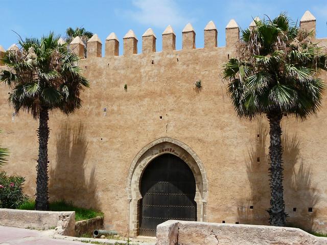 Puerta de entrada a la kasbah de Rabat (Marruecos)