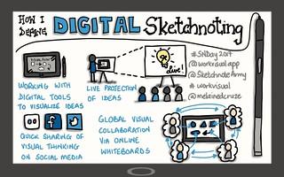 How I define digital sketchnoting