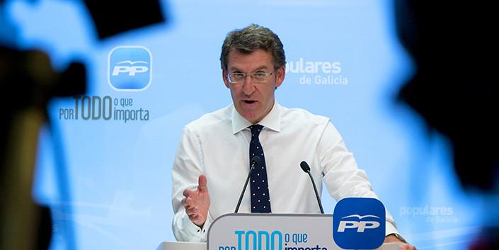 Resultado de imagen de Feijóo insiste en que PP y PSOE hablen