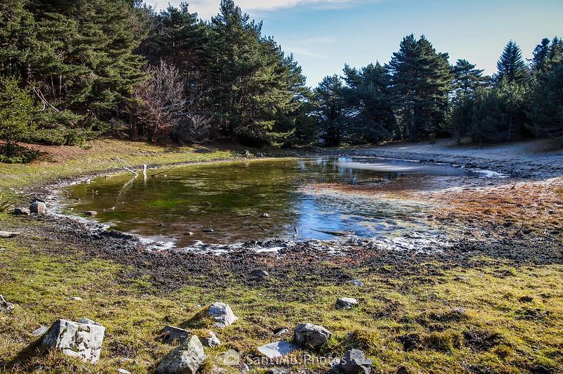 Pequeño lago de Eth Prilhon