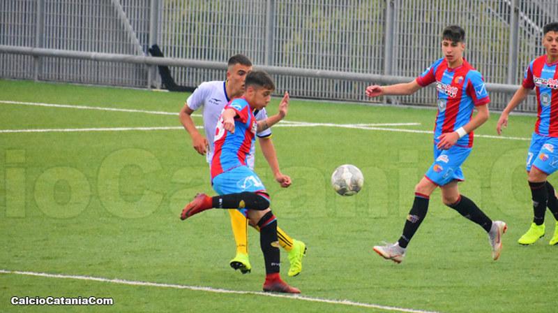 Salvo Le Mura, capitano della formazione Under 17, in gol nella gara d'esordio (foto di repertorio a cura di Daniele Sicilia)
