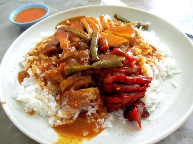 Ann Lee Hainan curry rice