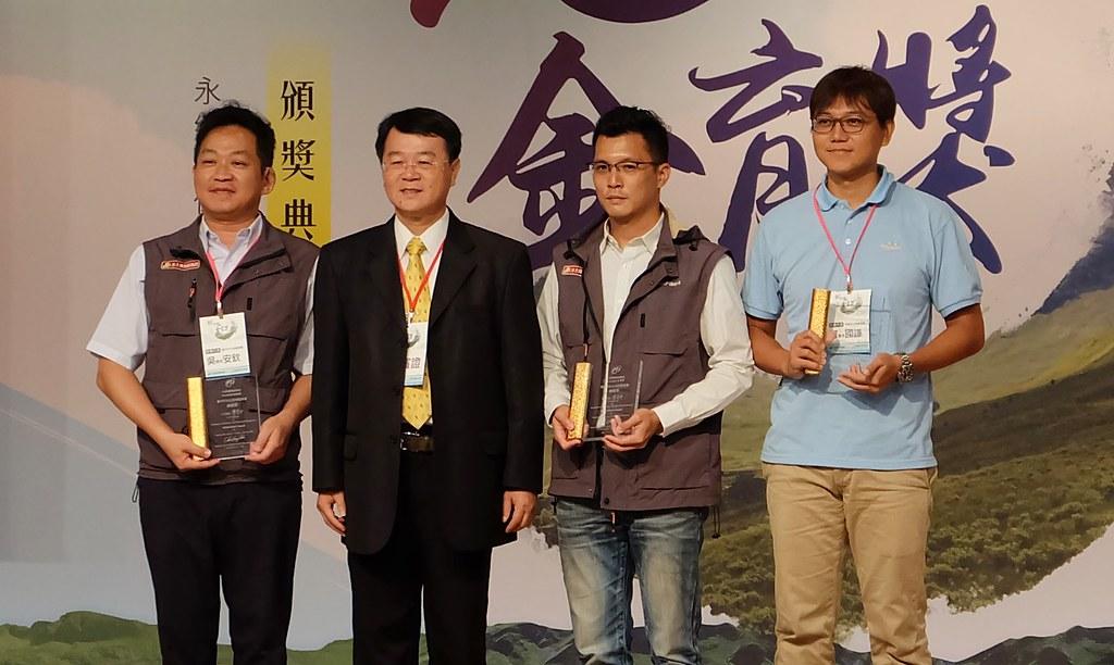 水保服務團得獎的是台中市、南投縣、桃園市。攝影:陳文姿