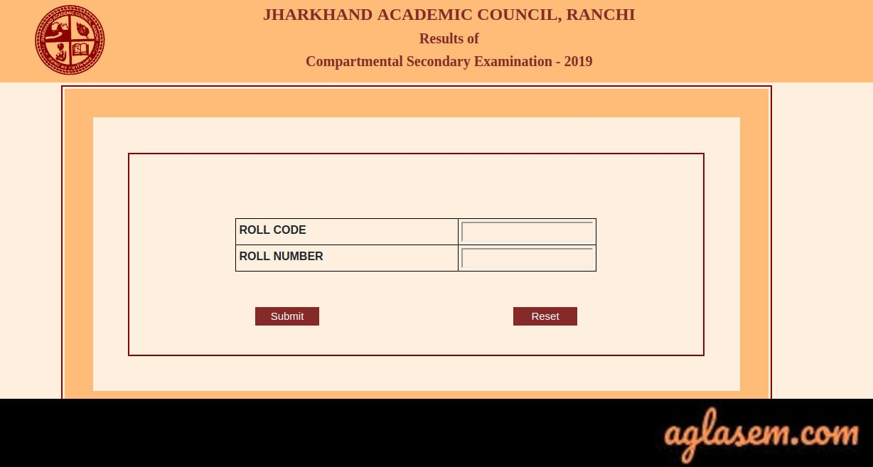 JAC 10th Compartment Result 2019