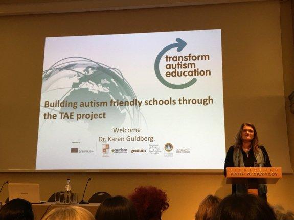 Transform Autism Education Erasmus+ project presentation