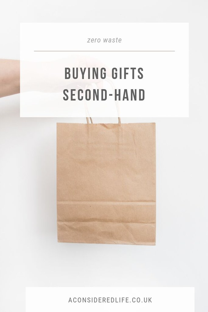 Buying Gifts, Second-Hand
