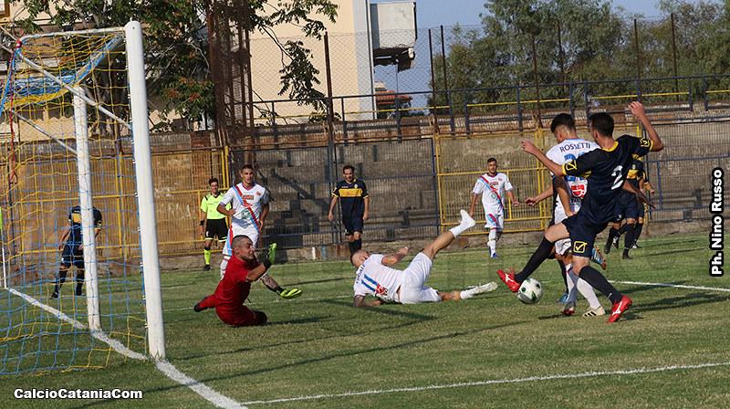 Rossetti porta in vantaggio il Catania