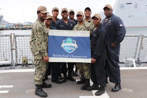 The Phantom Warriors of USS Paul Hamilton (DDG 60) showed their willingness to compete and win in any venue during 2019's Pacific Fleet Surface Line Week Aug. 12-23