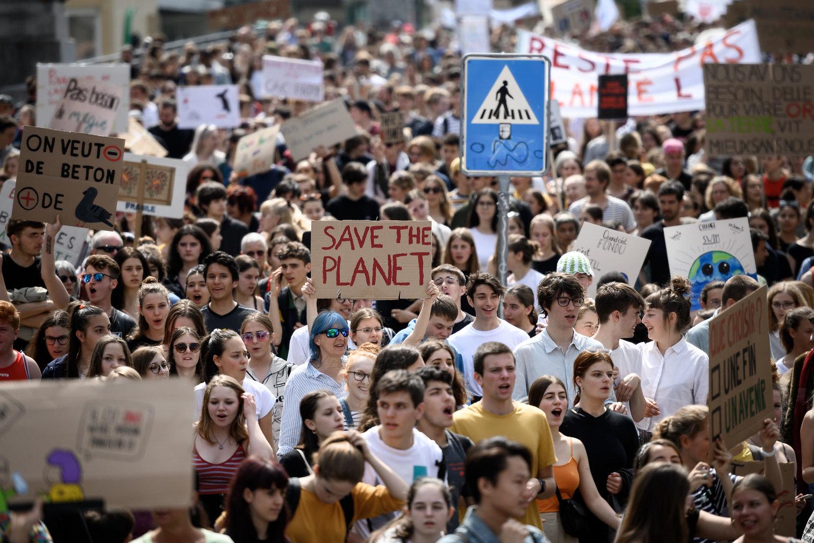 Klímafelvonulás lesz a szegedi Belvárosban